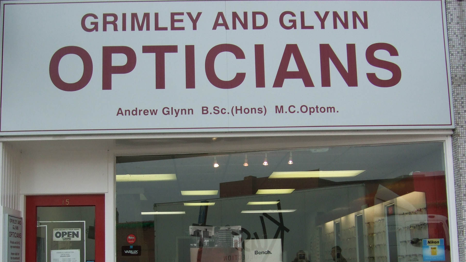 a5420085ee9 Professional opticians Grimley and Glynn